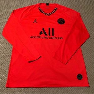 Paris Saint-Germain Long Sleeve Soccer Jersey